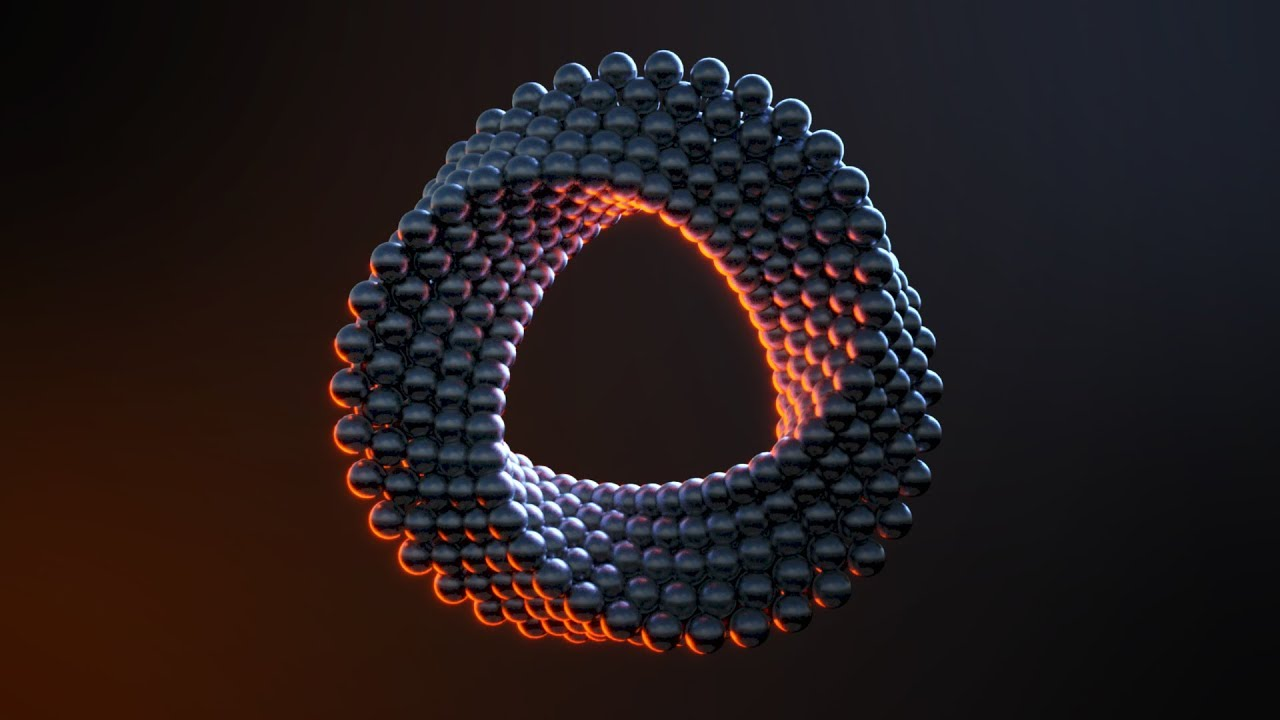 Abstract Ring in Cinema 4D - Octane Render Ready File