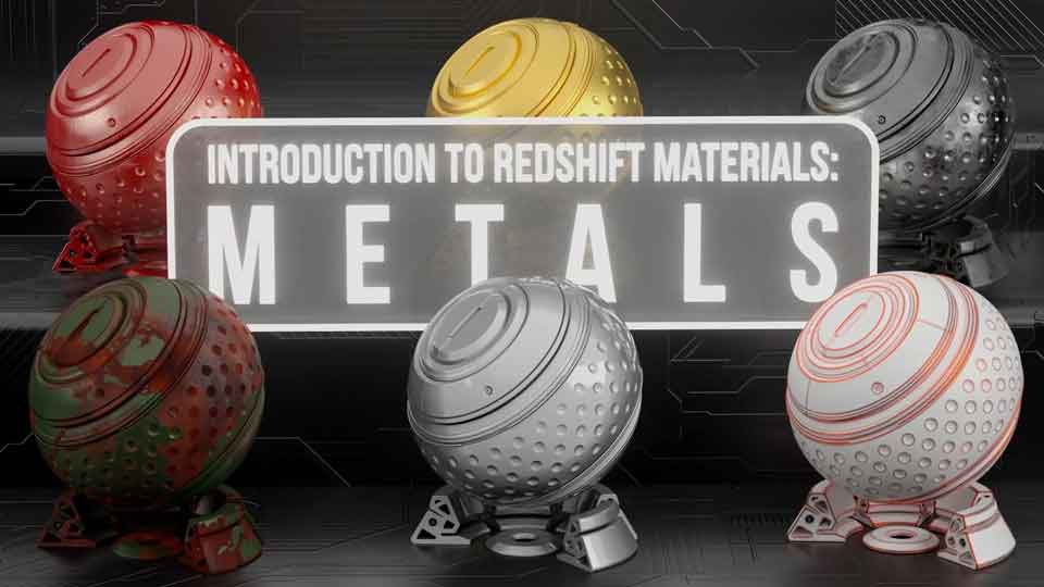 Introduction to Redshift Materials: Metals
