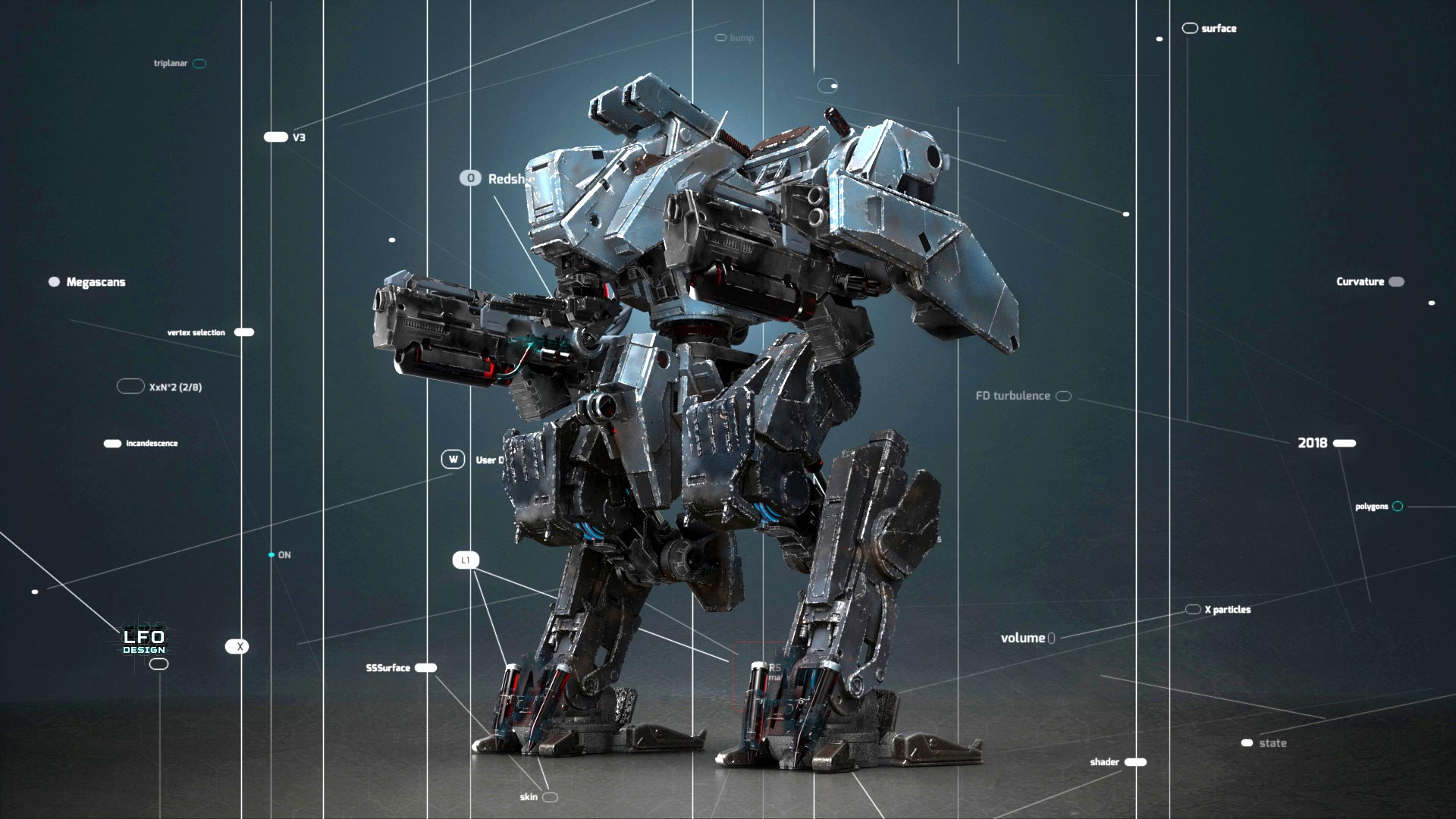 3D Rendering for VFX and Games – The Ultimate Redshift Course