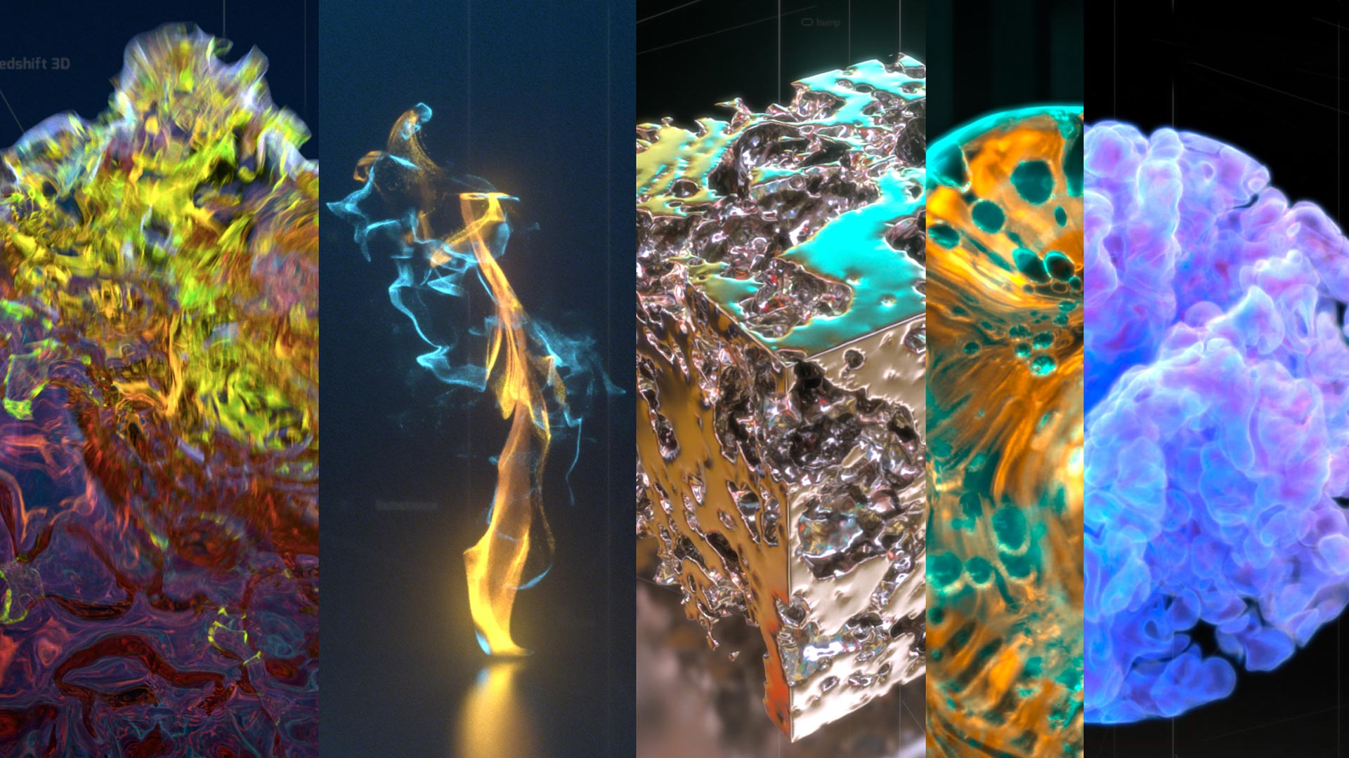 X-Particles with Redshift 3D